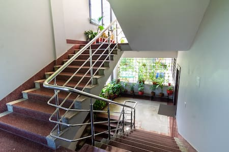 Guests must use the stairs to reach the 3rd floor