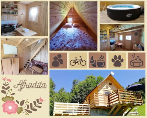 Glamping house Afrodita with private jacuzzi