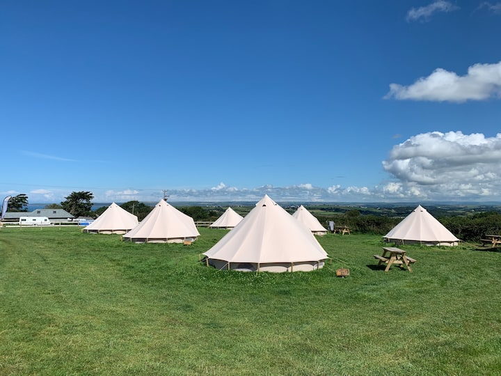 Bell tent camping in North Devon - #3.