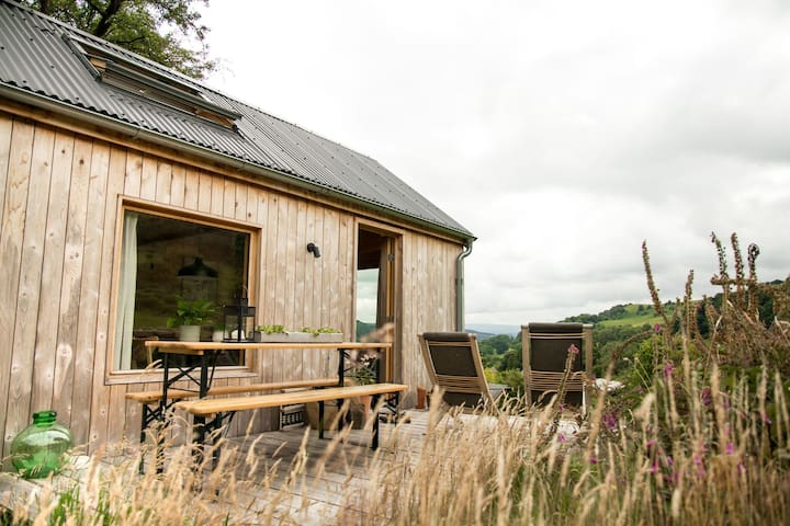 Hillside hideout in the Upper Wye Valley