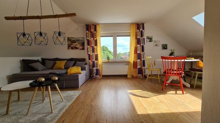 Moderne & freundliche Wohnung mit Loftcharakter