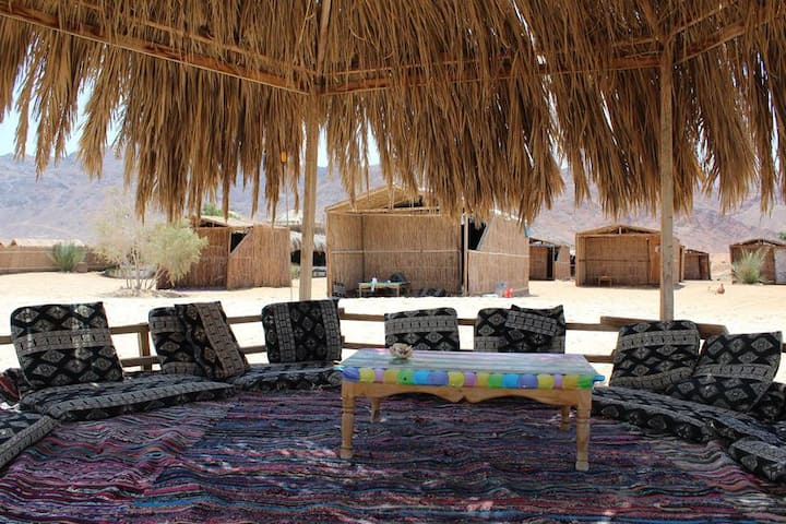 A nice place in red sea, direct on the sandy Beach
