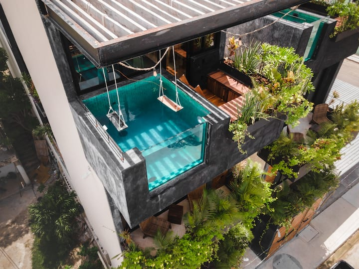 ★ 2 Story PH+Private Pool ★ WashDry | Full Kitch✦