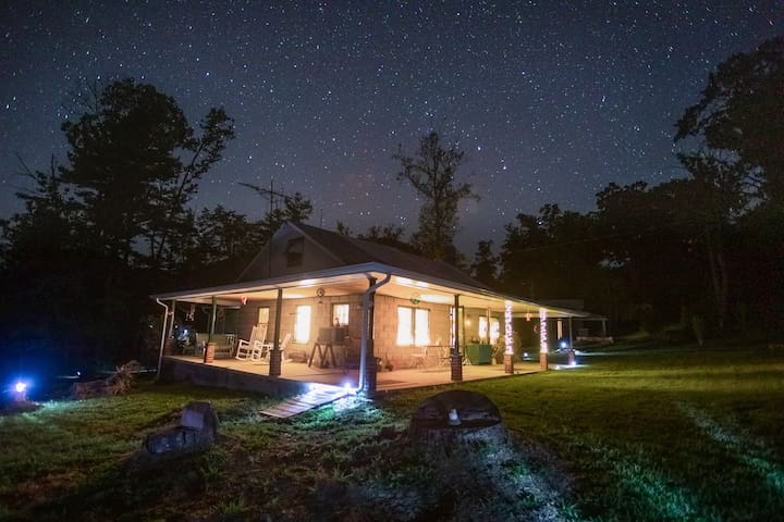 Mcalisterville Mountain Cabin Forest & Stars