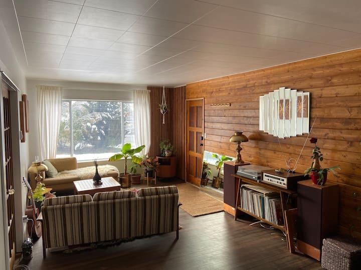 NorthPort Cozy Cabin w/huge yard and cedar hottub!