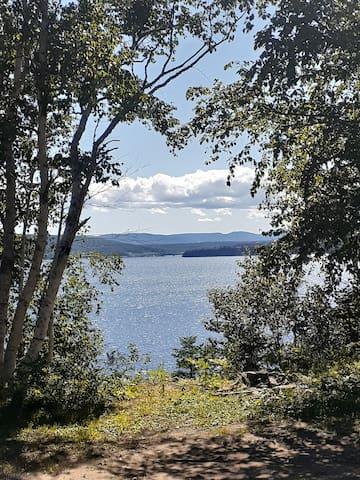 Maison avec vue sur la baie de Gaspé