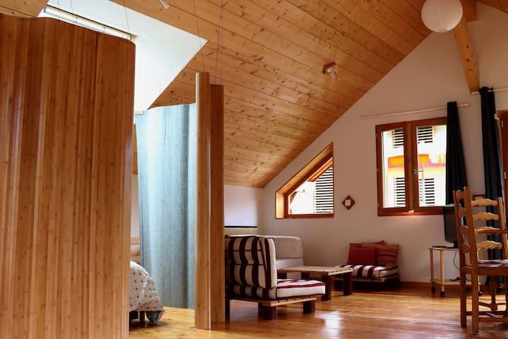Loft bio-écoresponsable classé meublé 2 étoiles