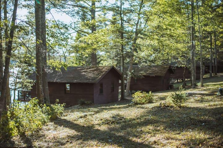 Otyokwa cabins on Lake Pemaquid