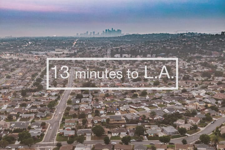 Pet friendly and 13 Minutes to Los Angeles