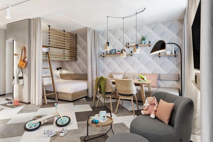 Stay KooooK Bern - Family Apartments mit Küche
