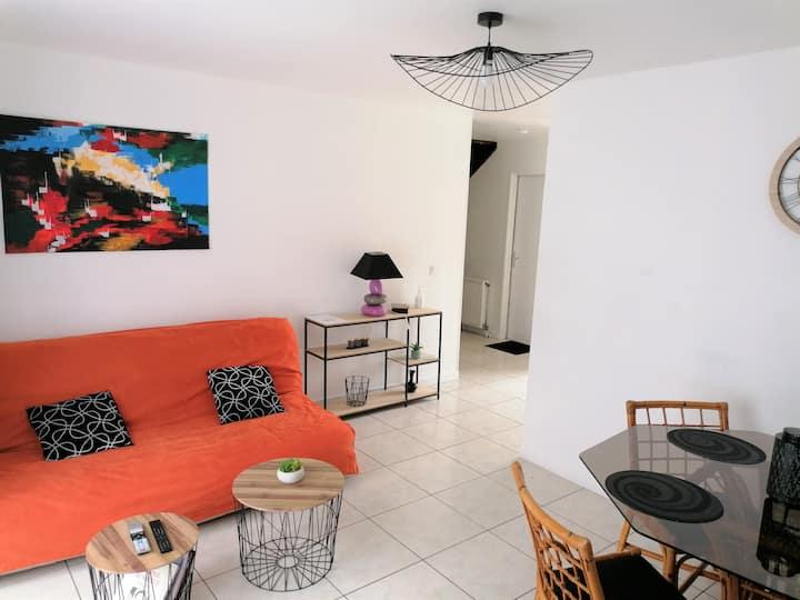 Maison 95 m² familiale avec jardin