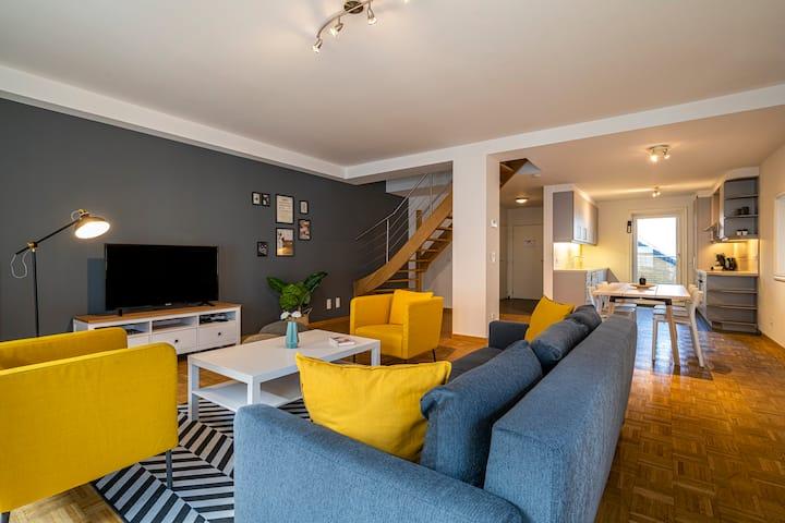 Smartflats Ghent Central 201 - 2 Bed Duplex Terr