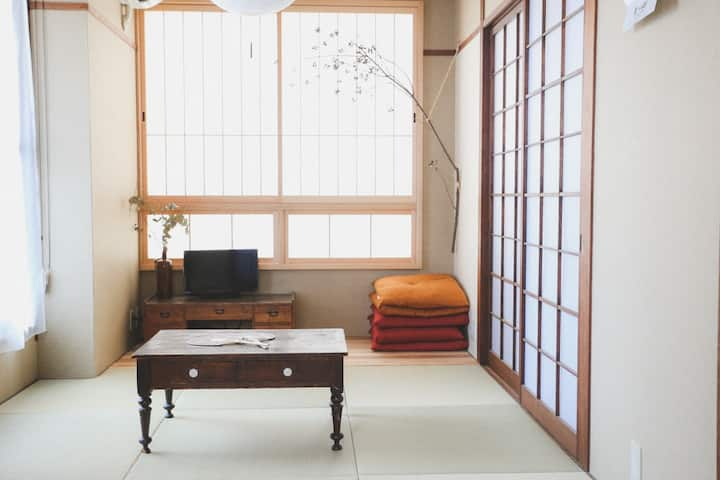 Cozy apartment for 5 / Japanese Style 2 Bedrooms!