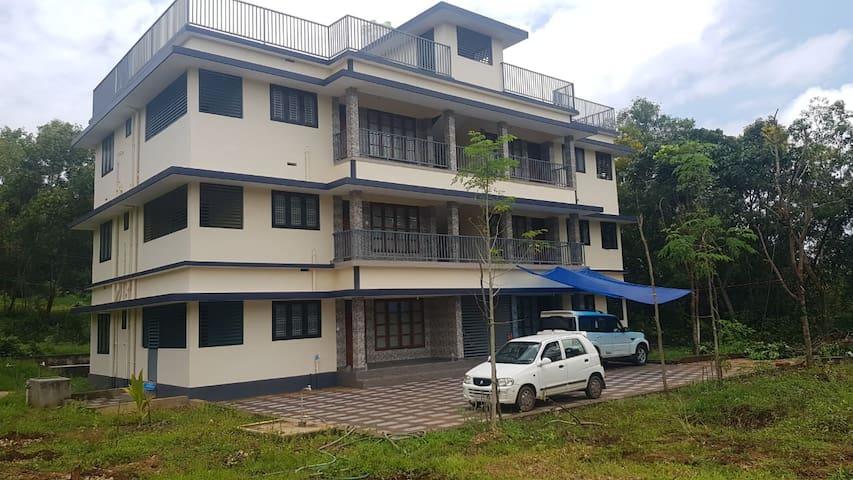 Bekal tourism spot house.