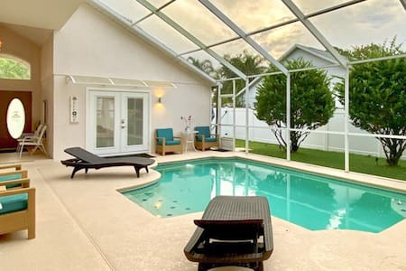 The Studio ~ Peaceful Retreat w/ Pool Near Disney