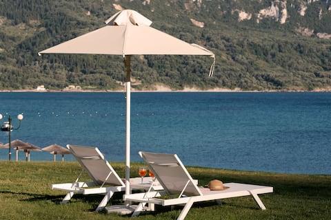 Armikes Beachfront  Suite 1 Afionas Corfu