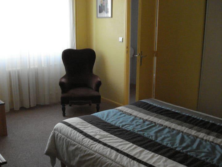chambre hotel calme