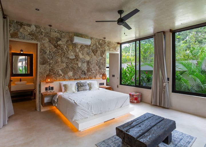 Luxury boutique villa in Tulum by Azulik gallery