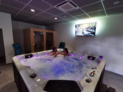 ô fina bolha de spa privado