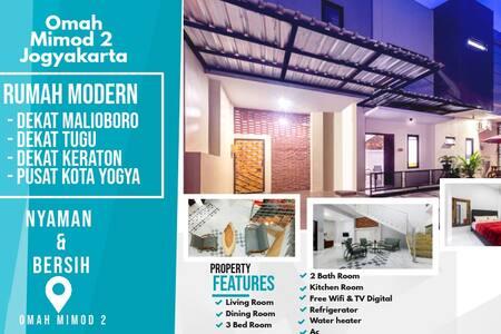Mimod 2 House ,City Center and  near malioboro