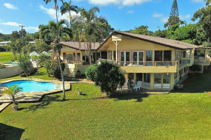 Hale Kahoa Annex w/pool. Ocean view steps to beach