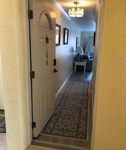 Full-sized 36 inch doorway.
