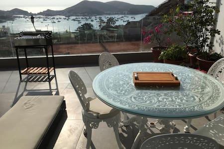 Casa de playa Spa/home office, vista al mar- Naplo