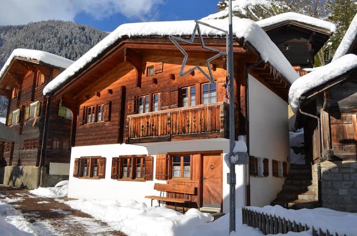 Chalet Tunegädi Fieschertal Aletsch Arena Valais