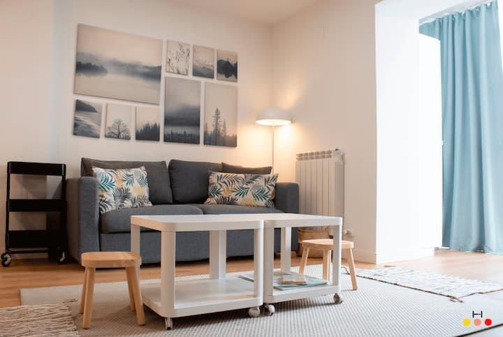 ☑ Apartamento nuevo CENTRO CIUDAD ✚ PARKING ✚ WIFI