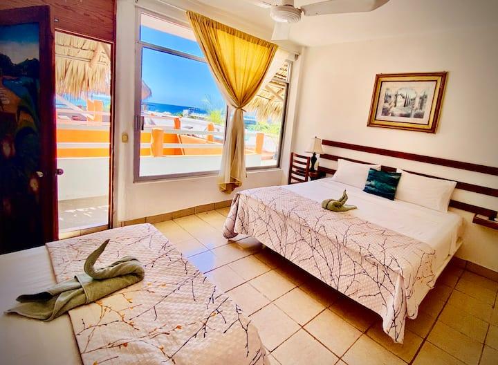 CPB18 Hermoso Hotel Boutique en Playa Zicatela