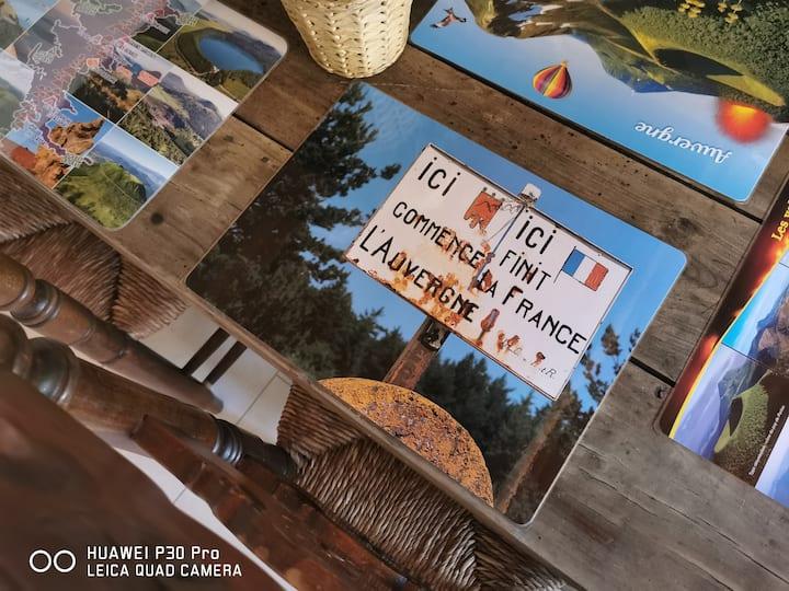 Bienvenue au cœur de l'Auvergne