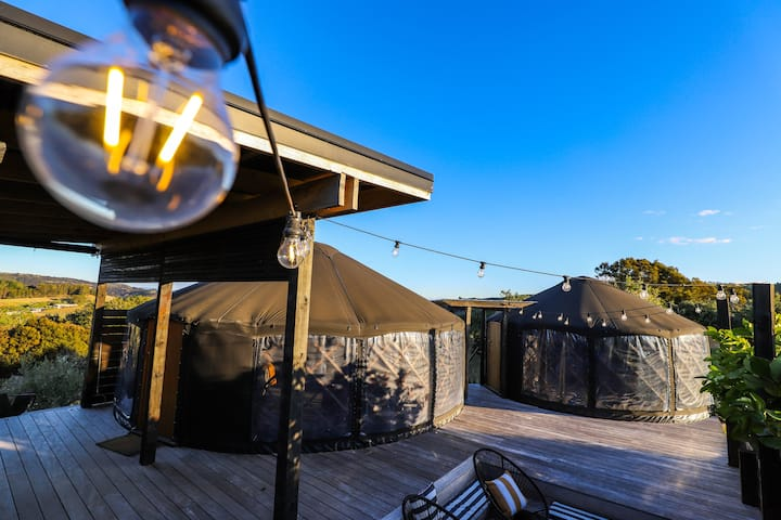 Full Circle  Retreat - Yurt Glamping - Waiheke Is