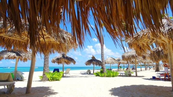 Beachfront Villa,  Sea View - 7 Guests, PICK UP