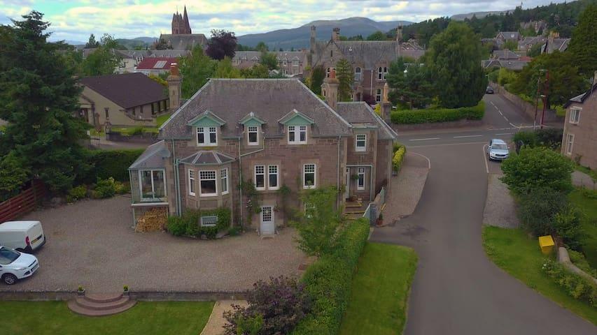Galvelbeg House, Crieff