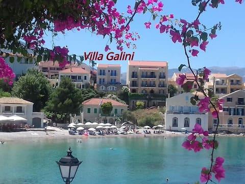 素晴らしい海の景色を望むヴィッラガリーニ