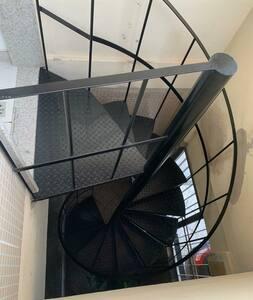 Acesso ao 1 Andar escada