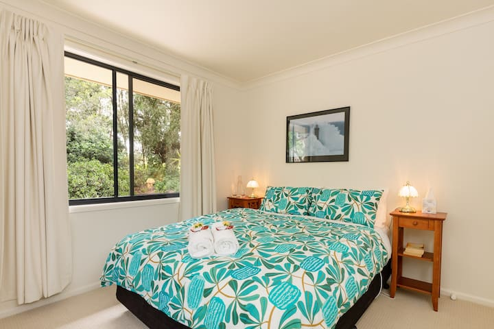 Bedroom Three with the Bower Bird nest nearby