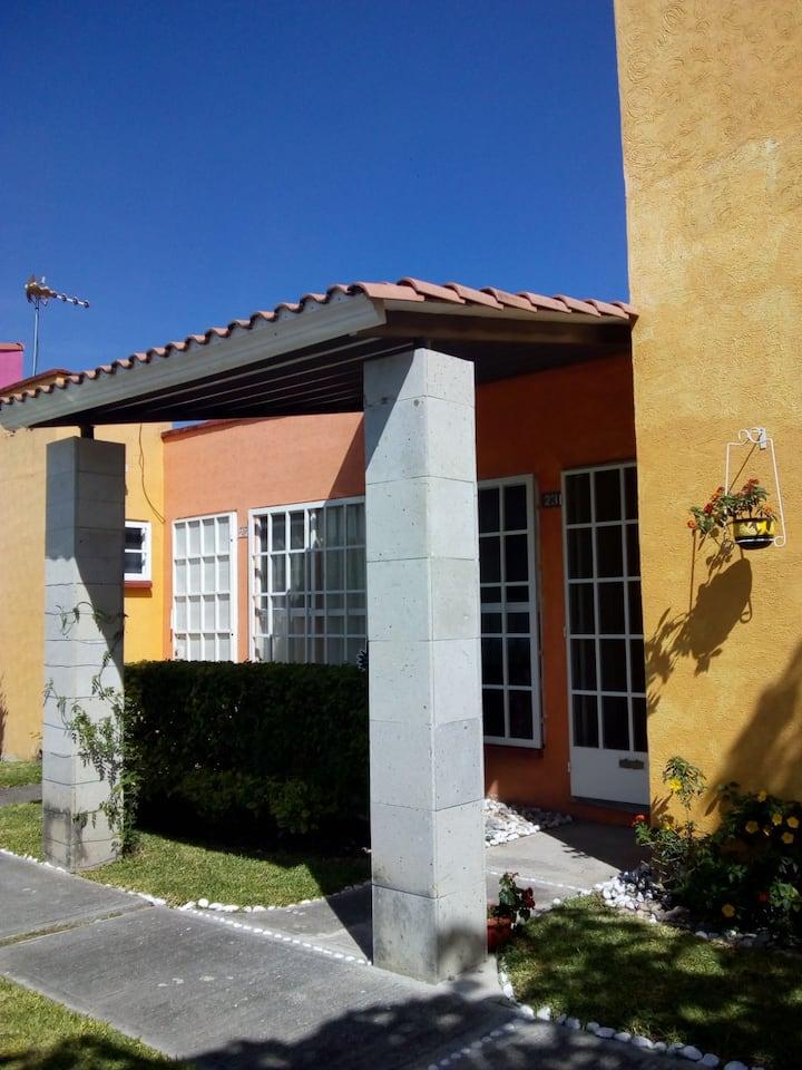 Acogedora casita en La Campiña, cerca Cuernavaca.