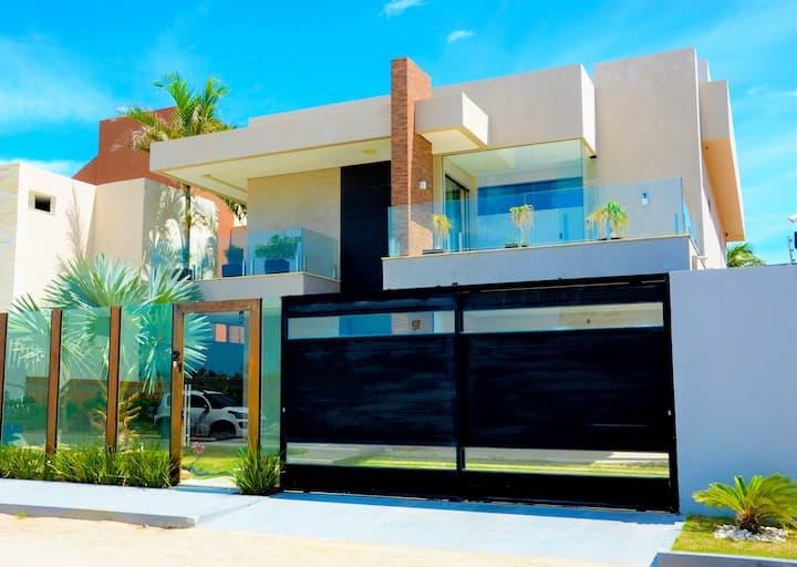 Casa de Luxo na Praia @sunluxuryhome_aju