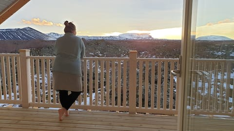 TufaOli ´s Homestay, Lake Mývatn, great view