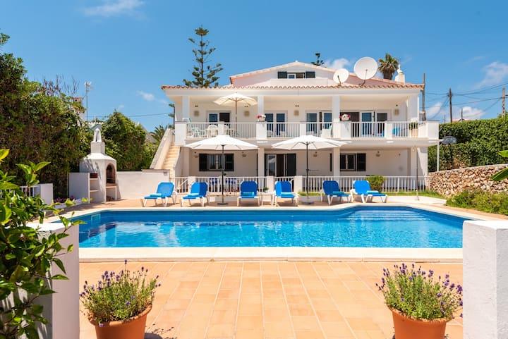 Villa Maria Angeles w/ Pool, Punta Prima, Menorca
