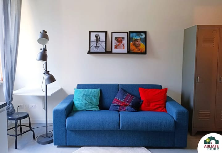 Cozy studio apartment near Monza, Como and Milano