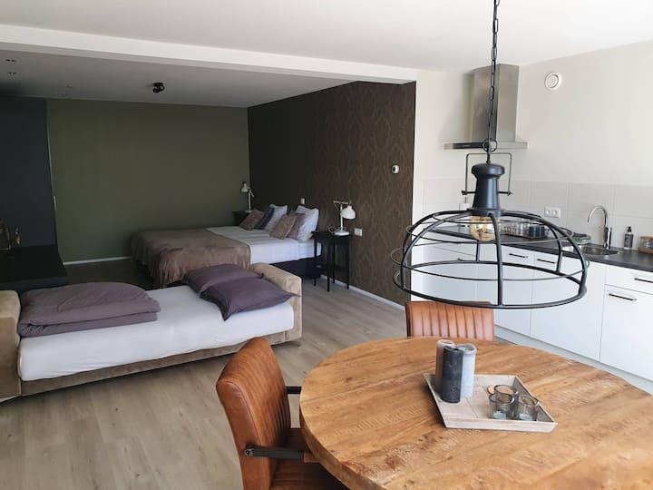 Moderne appartement centrum Burgum - Friesland