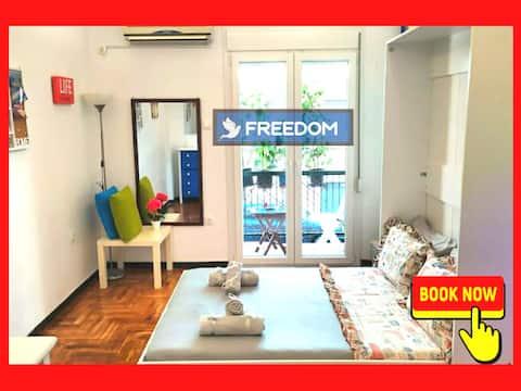 Freedom Apartment- Quiet and comfortable apartment