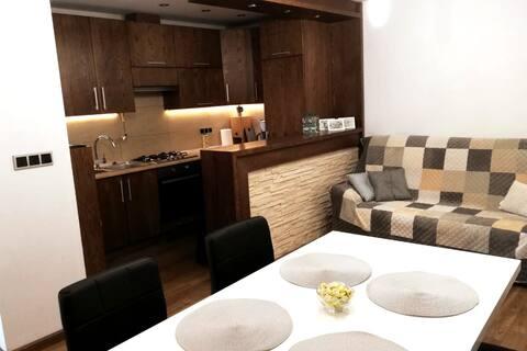 Pawłowice, nowoczesny apartament.