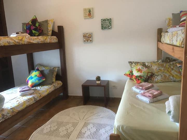 Suíte Colonial 2 - Guarujá, Praia Pernambuco (New)