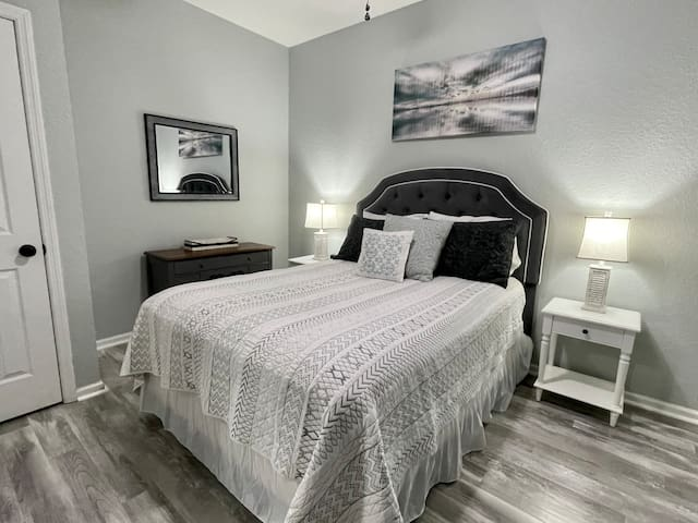 Second Bedroom with Comfy Queen Bed
