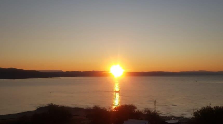 Dama Bianca Panoramic App on the Trieste Bay IRENA