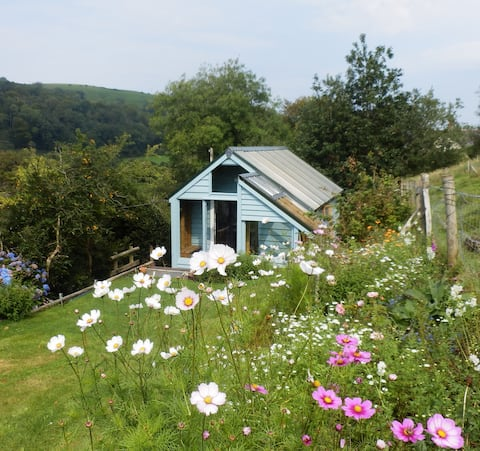 Tangnefedd Cabin, a rural retreat in Ceredigion