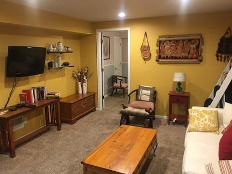 T&D's Suite Spot-A 2 bedroom private suite w/bath